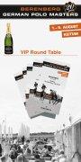 Round Table im VIP-Garten für 6 Personen am Samstag, den 03.08.2019